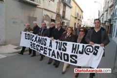 Manifestación IES Reyes Católicos