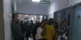 Colapso en Urgencias del Hospital de la Axarquía. Imagen enviada por usuarios.