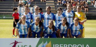Los goles de Bea Parra, Van Dongen y Priscila dieron la victoria al cuadro verdiblanco ante un Málaga Femenino que trabajó, pero no consiguió sumar.
