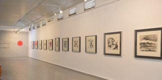 La sala Mercado acoge 25 grabados del artista realizados en los años 90.