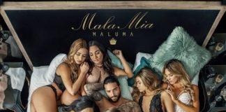 """Maluma ,la superestrella de la música urbanaalcanza elDisco de Platinoen ventas en España con su nuevo sencillo""""Mala Mía""""."""