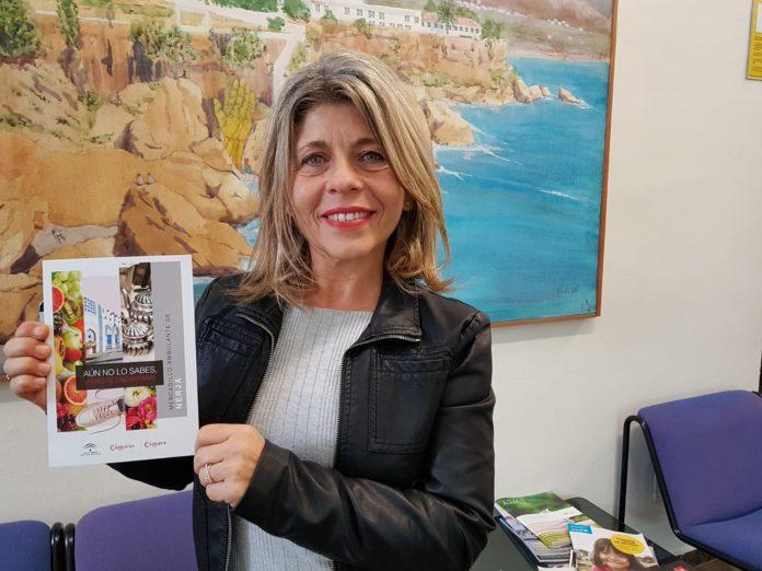María del Carmen González Ortega, concejala de Comercio, Ocupación de la Vía Pública y Mercadillo del Ayuntamiento de Nerja.
