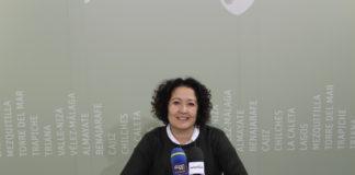 La concejala de Educación y Cultura, Cynthia García.