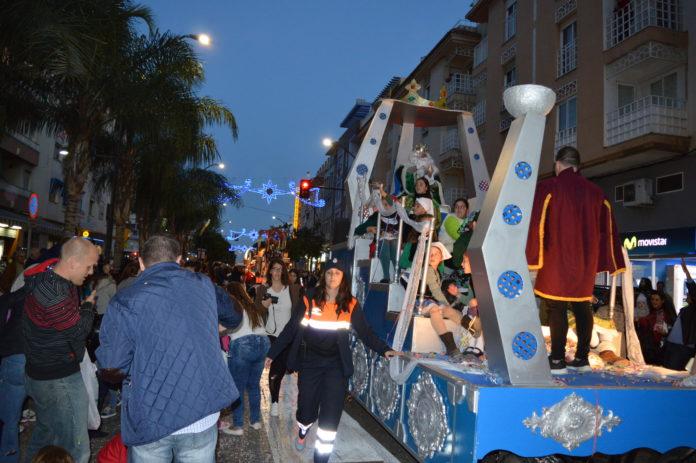 Imagen de archivo sobre la celebración de la Cabalgata de los Reyes Magos en Rincón de la Victoria.