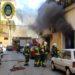Policía Local y Bomberos intervienen en la extinción de dos incendios