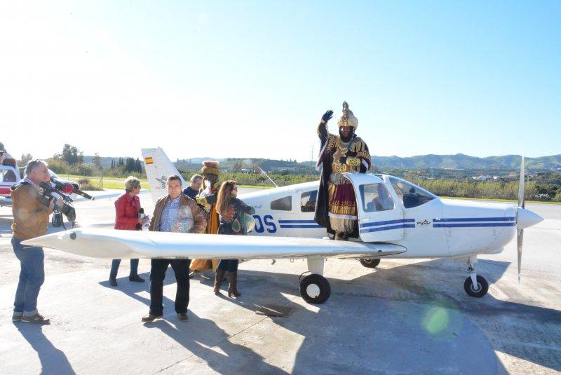 Reyes Magos aeródromo Axarquía