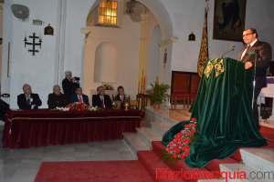 Vigías presenta su nuevo trono, obra de los hermanos Caballero