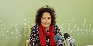 Cynthia García, concejala de Cultura del Ayuntamiento de Vélez-Málaga.