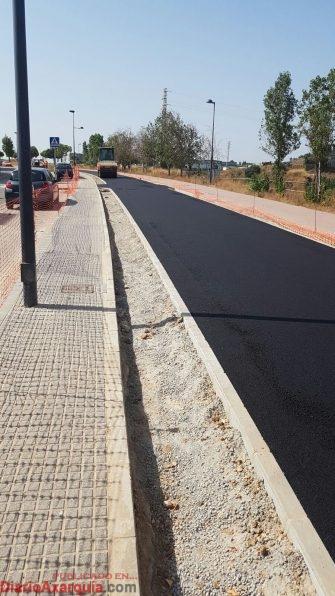 Bulevar verde en Vélez.