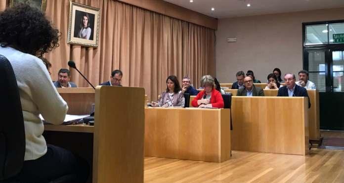Un pleno con incidentes el celebrado hoy lunes en Vélez-Málaga.