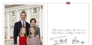 Se trata de la felicitación más formal que envían don Felipe y doña Letizia desde que cumplen juntos con esta tradición.