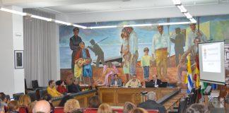 Francisco Salado, presentó a la ciudadanía los nuevos presupuestos en la tarde de ayer lunes.