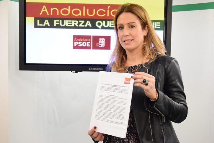 """Antonia García denuncia que el PP """"siempre busca excusas"""" a la hora de ser diligente con la memoria histórica y acusa a IU y Podemos de hacer un uso partidista de este tema."""