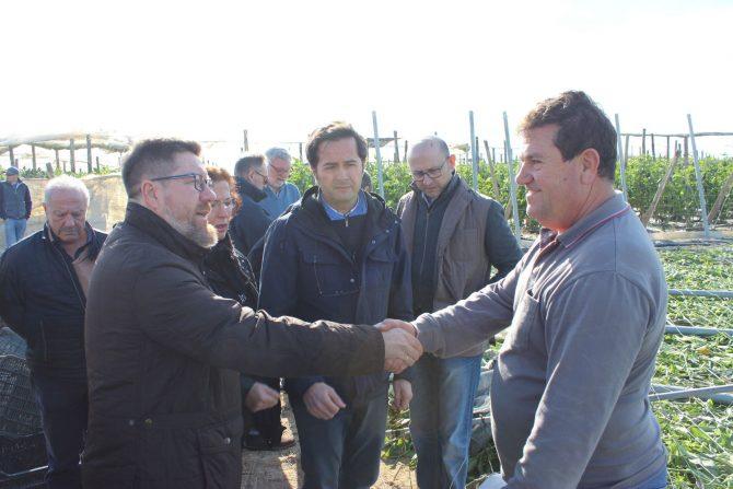 """Sánchez Haro ha instado a los agricultores a que """"evalúen los daños antes de reparar nada"""","""