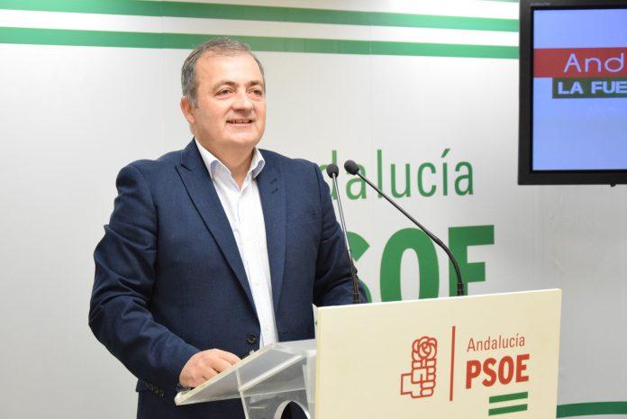 El parlamentario andaluz y portavoz socialista en la Comisión de Salud del Parlamento de Andalucía, Francisco Vargas.