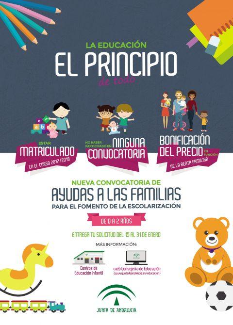 El Ayuntamiento de Vélez-Málaga informa de las nuevas ayudas a la escolarización para las guarderías del municipio