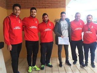 El Fútbol Base Torreño ha querido agradecer a Daniel Rey Godínez su participación e implicación con los pequeños.