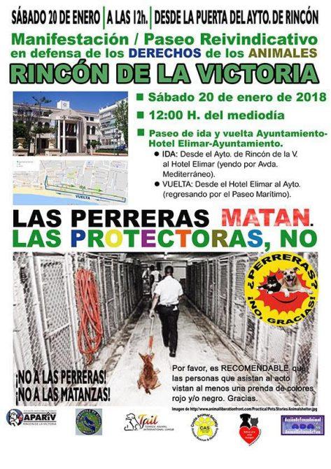 IU muestra su apoyo a la campaña ciudadana en defensa de los acuerdos plenarios sobre protección animal