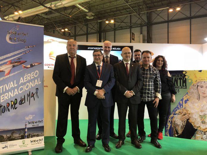Vélez-Málaga realizó este jueves la presentación del municipio en el stand de la Costa del Sol de la Feria Internacional de Turismo bajo el slogan 'Volverás'.