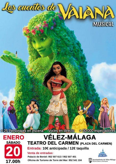 La programación cultural de Vélez-Málaga arranca el año cargada de actividades para todos los públicos