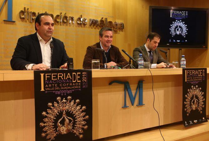 Pizarra acoge la I Feria Nacional de Arte Cofrade Valle del Guadalhorce