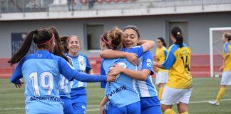 El conjunto malaguista mantiene la primera plaza de la clasificación con 37 puntos gracias a la victoria ante el Club Atlético Polillas, un partido donde destacó la figura de Meri, que inauguró su cuenta personal de goles con la blanquiazul.