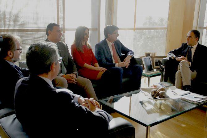 Bendodo y Marín destacan la colaboración entre el PP y C's en la provincia de Málaga