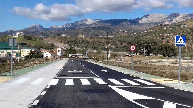 La Diputación invierte 480.000 euros en nuevas actuaciones en el polígono industrial de Riogordo