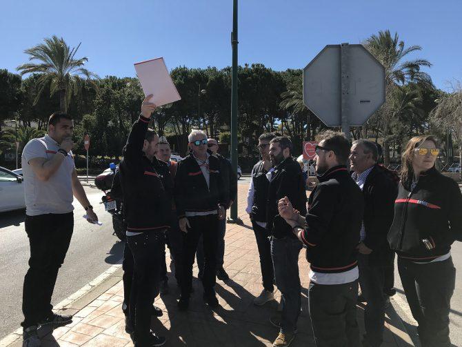 Comienzan en Málaga los preparativos para recibir La Vuelta 2018