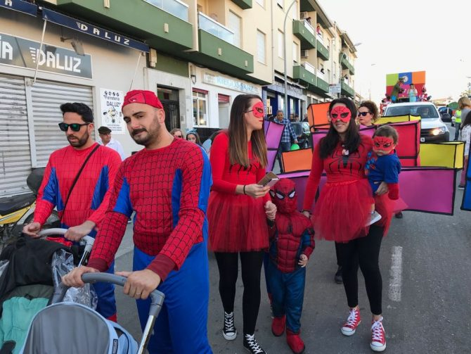 Almayate se vuelca con su Carnaval