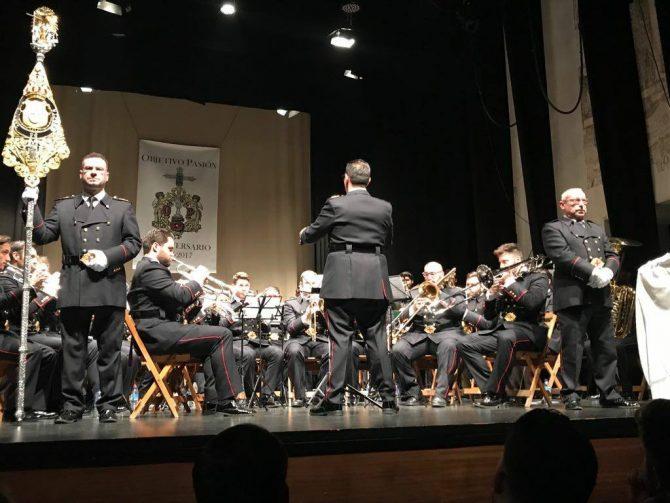 El acto contó con la actuación la Agrupación Musical Santísimo Cristo De Gracia.