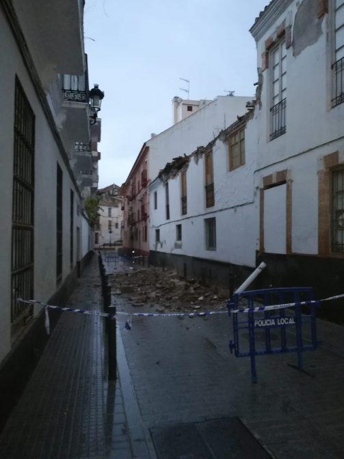 El inmueble estaba abandonado. FOTO: DANI MUIÑOZ.