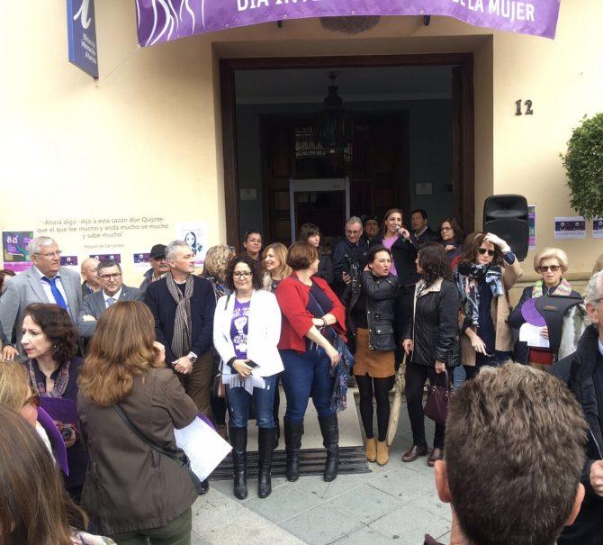 Vélez-Málaga se suma a la huelga feminista del 8M