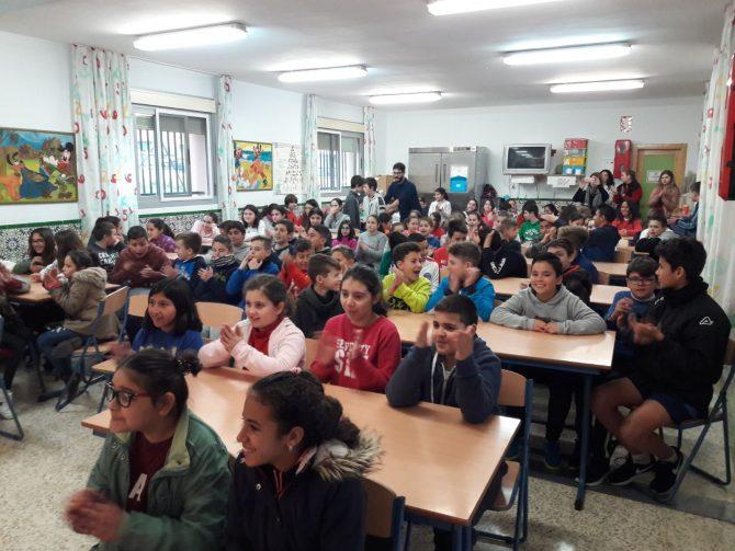 El Colegio Juan Herrera Alcausa, de Vélez-Málaga, ganador de un concurso de fotografía sobre reciclaje