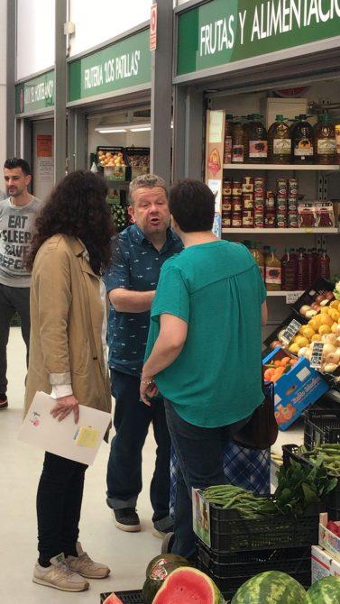 Chicote elige Vélez-Málaga como referente en gastronomía y comercio local en la provincia
