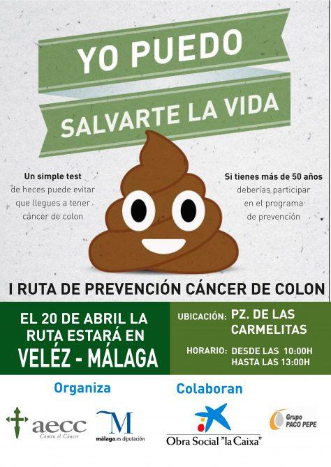 Vélez-Málaga acoge la I Ruta de Prevención del Cáncer de Colon en la provincia