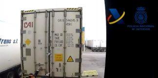  En una operación conjunta de la Policía y la Agencia Tributaria se han decomisado un total de 9 toneladas de cocaína oculta en un contenedor con plátanos.