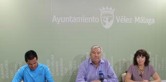 El teniente de alcalde de Almayate, Marcelino Méndez-Trelles, y la concejala de Deportes, María José Roberto, han presentado el evento, que se celebra el 3 de junio y comenzará a las 11.00 horas desde el colegio Juan Paniagua.