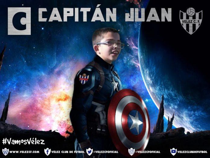 #CapitánJuanel alma de la plantilla benjamín, dice el equipo veleño.