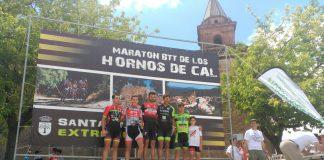 La prueba Maratón BTT Hornos de Cal- Extreme BikeSanta Ana la Real2018 se celebró en la provincia de Huelva.