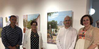 Amparo Martín cuenta en su currículum con casi una veintena de exposiciones individuales.