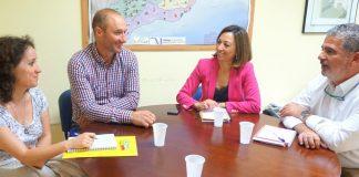 La secretaria general del Partido Popular de Málaga,Patricia Navarro, ha asegurado también ha hecho suya la reivindicación del sindicato respecto a la lucha contra la avispilla del castaño.