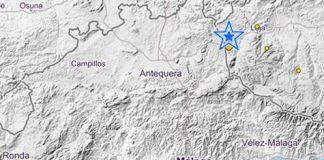 El seísmo se ha registrado este domingo a 5 kilómetros de profundidad. /Instituto Geográfico Nacional.