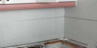 Al parecer, el propietario arrojó insecticida contra las cucarachas debajo de la lavadora en funcionamiento y se produjo la explosión.