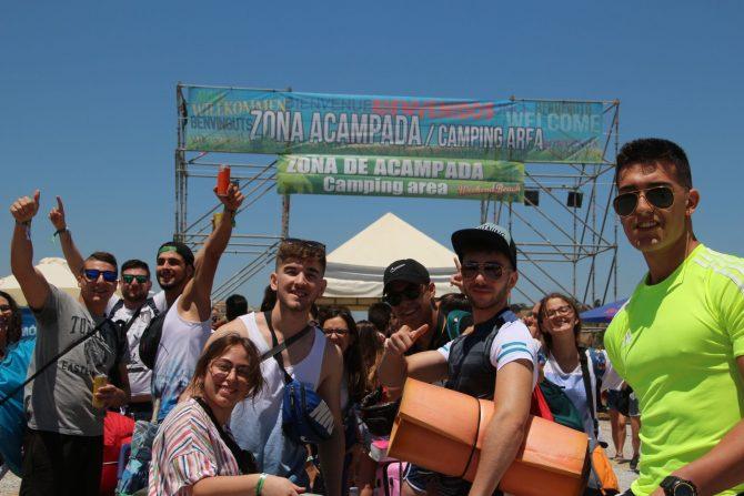 Weekend Beach Festival se despide con 140.000 asistentes y la promesa de volver en 2019