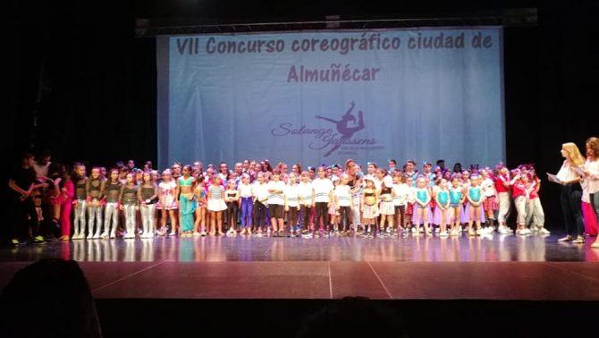 El Club Deportivo Fit Axarquía participa en el VII Concurso Coreográfico de Almuñécar