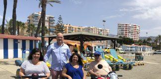 El litoral del término municipal de Vélez-Málaga cuenta con 6 playas adaptadas.
