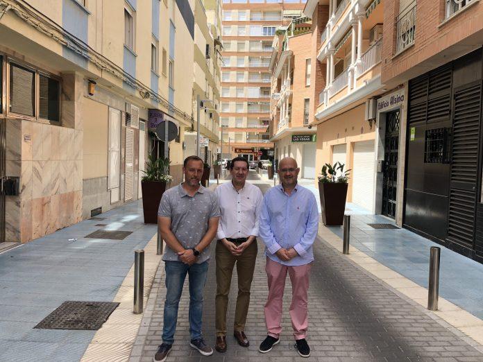 La actuación ha contemplado también mejoras en la calle Saladero Viejo, en un proyecto que se ha ejecutado en un plazo de tres meses con una inversión de unos 196.000 euros.