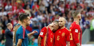 El equipo de Fernando Hierro cayó en octavos de final ante Rusia en el estadio Luzhniki de Moscú.