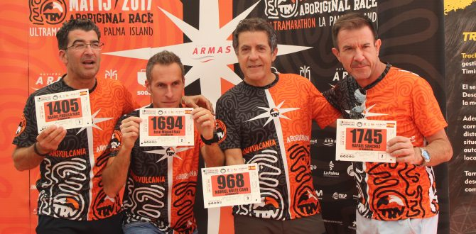 Cinco axárquicos compiten este fin de semana en la Ultramaratón del Mont-Blanc 2018
